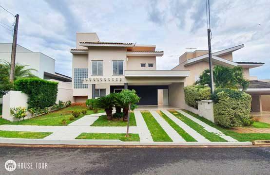 Casa com 3 suítes no Condomínio Figueira em Rio Preto para Locação